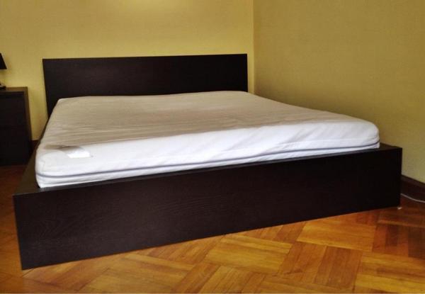 malm bett kleinanzeigen m bel wohnen. Black Bedroom Furniture Sets. Home Design Ideas