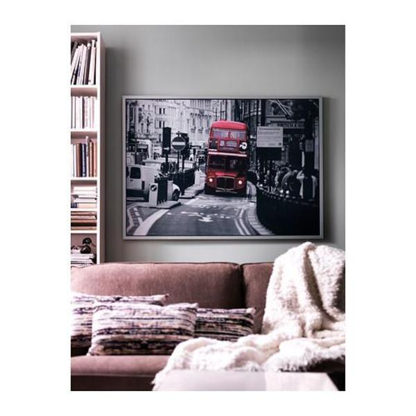 ikea bild london bus in m nchen dekoartikel kaufen und verkaufen ber private kleinanzeigen. Black Bedroom Furniture Sets. Home Design Ideas