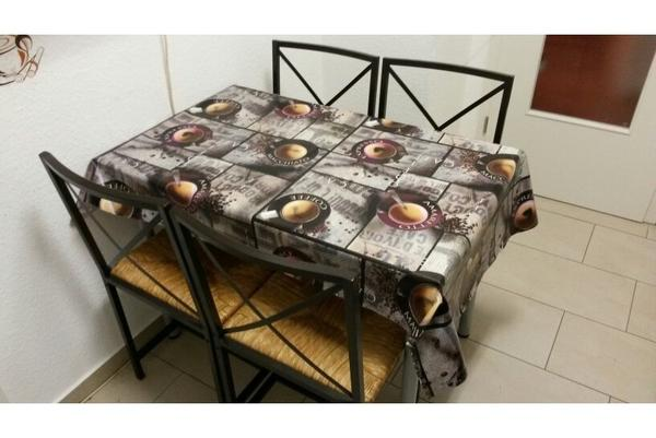 ikea esstisch mit st hle. Black Bedroom Furniture Sets. Home Design Ideas