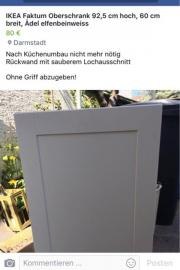 ikea modulk che udden gorenje bosch zu verkaufen in frankfurt k chenm bel schr nke kaufen. Black Bedroom Furniture Sets. Home Design Ideas