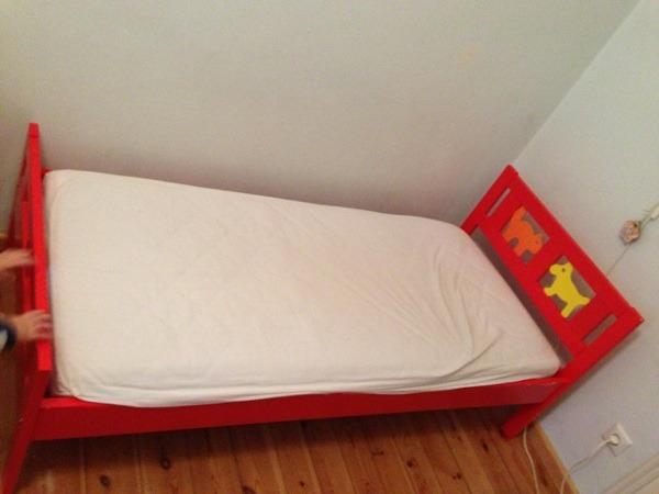 ikea kritter kinderbett in m nchen kinder jugendzimmer kaufen und verkaufen ber private. Black Bedroom Furniture Sets. Home Design Ideas