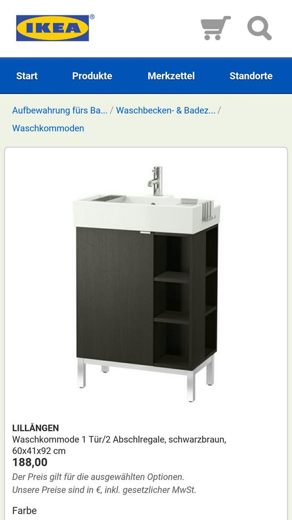 ikea badezimmer kaufen gebraucht und g nstig. Black Bedroom Furniture Sets. Home Design Ideas