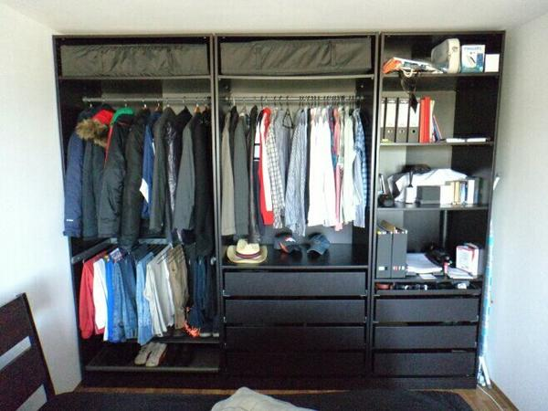 kleiderschrank ikea pax schwarz. Black Bedroom Furniture Sets. Home Design Ideas
