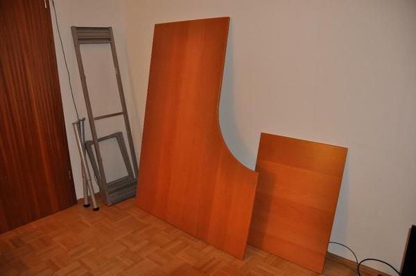 ikea eckschrank schreibtisch. Black Bedroom Furniture Sets. Home Design Ideas