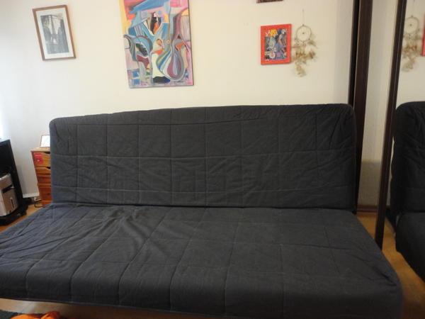 ikea sofa beddinge l vas 3er bettsofa ransta dunkelgrau g nstig an selbstabholer abzugeben in. Black Bedroom Furniture Sets. Home Design Ideas