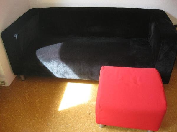 sofa rot neu und gebraucht kaufen bei. Black Bedroom Furniture Sets. Home Design Ideas