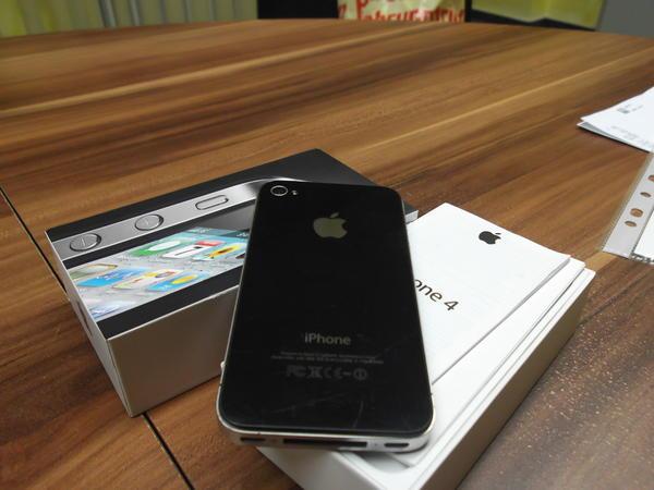 iphone 4 s gebraucht simlook frei top zustand in. Black Bedroom Furniture Sets. Home Design Ideas