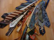 jede Menge Krawatten