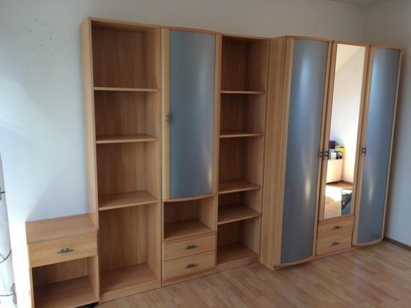 Jugendzimmer buche neu und gebraucht kaufen bei for Schrankwand ohne fernsehteil