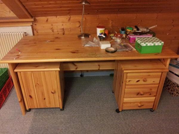Schreibtisch kiefer neu und gebraucht kaufen bei for Schreibtisch arbeitstisch