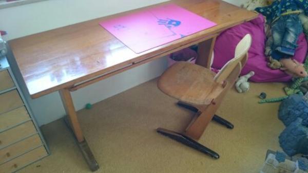 Alt schulbank neu und gebraucht kaufen bei for Schreibtisch grundschule