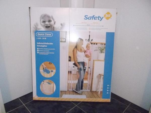 kinder schutzgitter t rgitter sicherheitsgitter f r babys kleinkinder. Black Bedroom Furniture Sets. Home Design Ideas