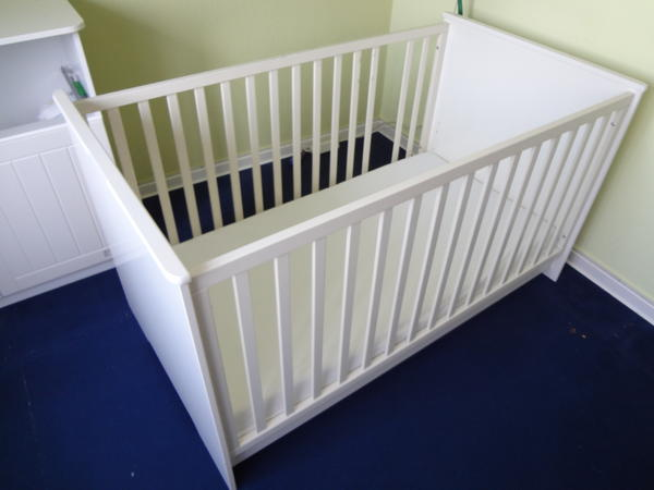 kinderbett roba dreamworld 2 wei 70 x 140cm in m hlheim. Black Bedroom Furniture Sets. Home Design Ideas