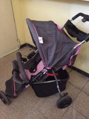 kinderbuggy,kinderwagen rosa