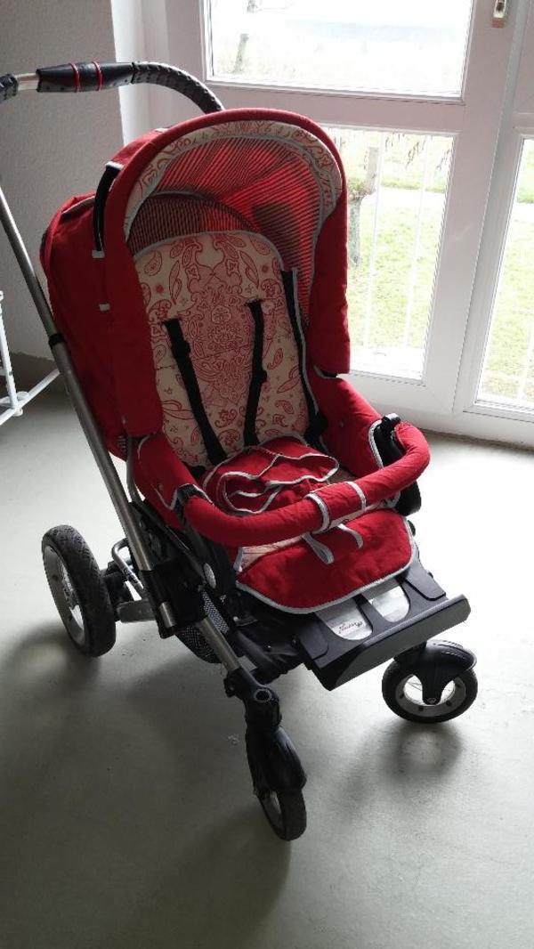 kinderwagen rot neu und gebraucht kaufen bei. Black Bedroom Furniture Sets. Home Design Ideas
