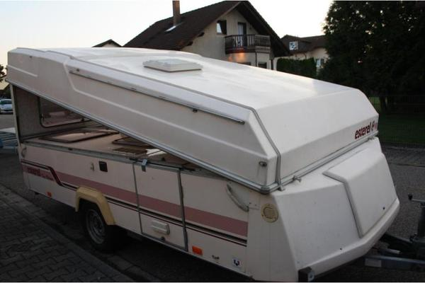 klappwohnwagen esterel 39 tn top volume t v neu. Black Bedroom Furniture Sets. Home Design Ideas