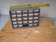 Kleinteilmagazin - Sortierkasten mit