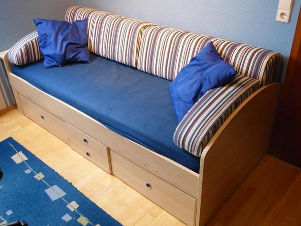 kojenbett mit rahmen und matratze in lambsheim betten kaufen und verkaufen ber private. Black Bedroom Furniture Sets. Home Design Ideas