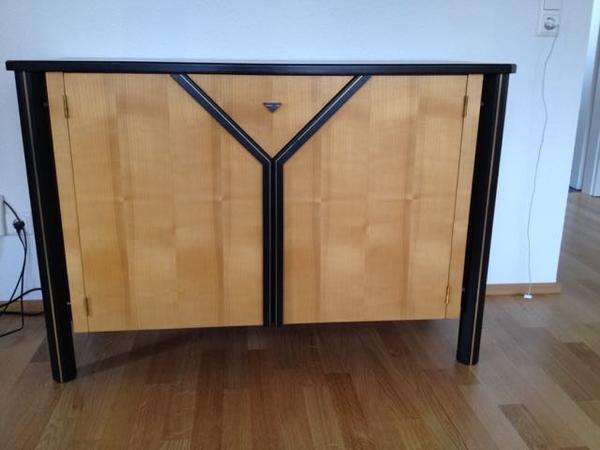 kommode anrichte einzelst ck aus kirschbaum anfertigung als gesellenst ck zur. Black Bedroom Furniture Sets. Home Design Ideas