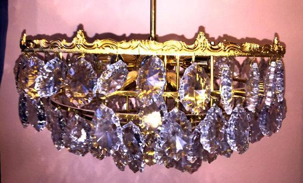 Kristall Kronleuchter Günstig Gebraucht : Kronleuchter kristall kaufen gebraucht und g?nstig