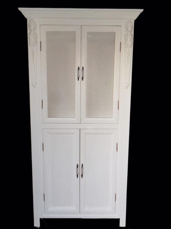 k che k chenschrank vitrine im jugendstil gr nderzeit shabby chic in augsburg. Black Bedroom Furniture Sets. Home Design Ideas