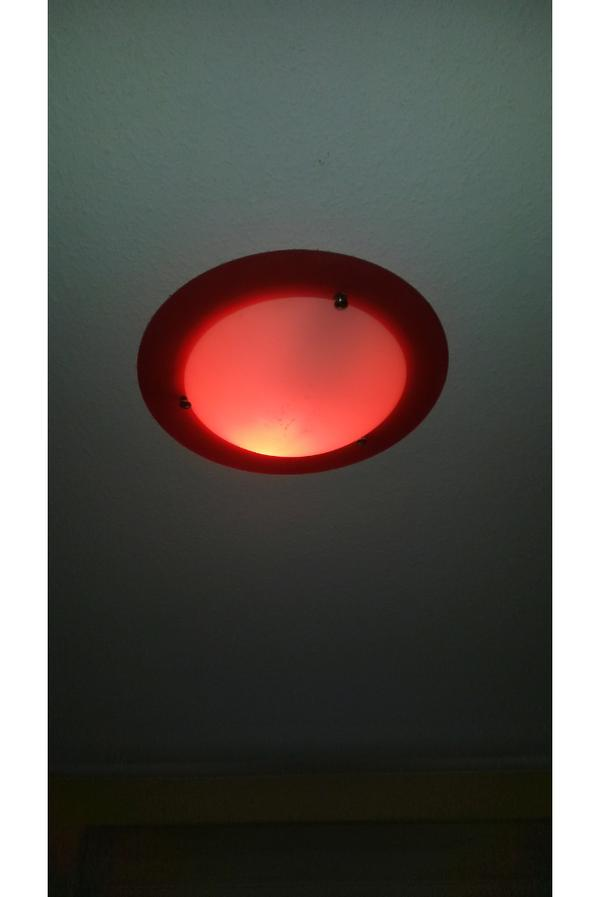 k chen decken lampe umrandung rot 2 bilder dazu in. Black Bedroom Furniture Sets. Home Design Ideas