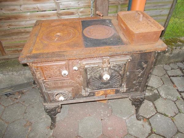 k chenherd antik mit wasserschiff in hallerndorf k chenherde grill mikrowelle kaufen und. Black Bedroom Furniture Sets. Home Design Ideas