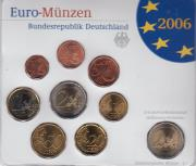 Kursmünzensatz Deutschland 2006
