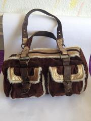 Kuschel-Handtasche* Velour*