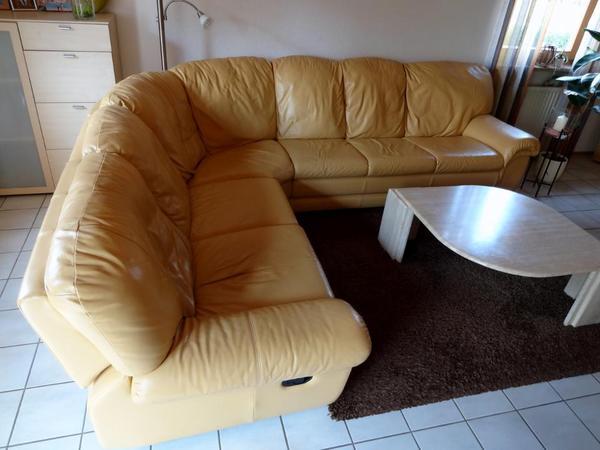 ledersofa ledercouch ecke 2 3 relaxfunktion in eckental polster sessel couch kaufen und. Black Bedroom Furniture Sets. Home Design Ideas