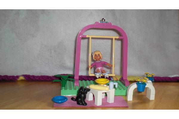 lego belville m dchen mit schaukel in glauburg spielzeug lego playmobil kaufen und verkaufen. Black Bedroom Furniture Sets. Home Design Ideas