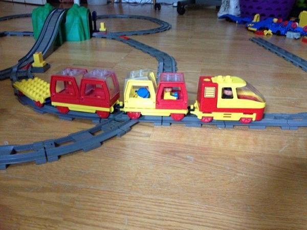 Lego duplo eisenbahn in frankfurt spielzeug