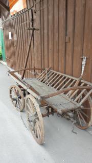Leiterwagen alt