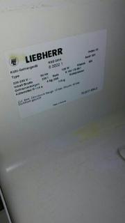 Liebherr Kühl-Gefrierkombi