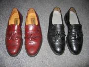Lloyd Freeport Slipper in Größe UK 9.5 = ca. EU 43-44, edele Herrnslipper = Geschäft & Gesellschaft Tolle Herrenschuhe als Businessschuhe, Tanzschuhe, Gesellschaftsschuhe oder Schuhe für ein Vorstellungsgespräch! Ein Paar schwarze Lloyd Freeport ... 49,-  - Lloyd Freeport Slipper in Größe UK 9.5 = ca. EU 43-44, edele Herrnslipper = Geschäft & Gesellschaft Tolle Herrenschuhe als Businessschuhe, Tanzschuhe, Gesellschaftsschuhe oder Schuhe für ein Vorstellungsgespräch! Ein Paar schwarze Lloyd Freeport