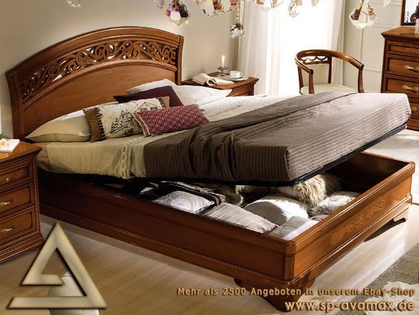 luxus bett 160x200 schlafzimmer torriani klassische stilm bel italien in hamburg betten kaufen. Black Bedroom Furniture Sets. Home Design Ideas