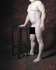 Männliches Hobby Aktmodell