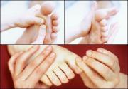 Massage Übungen bei
