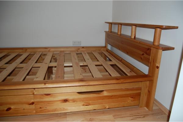 kiefernholz bett neu und gebraucht kaufen bei. Black Bedroom Furniture Sets. Home Design Ideas