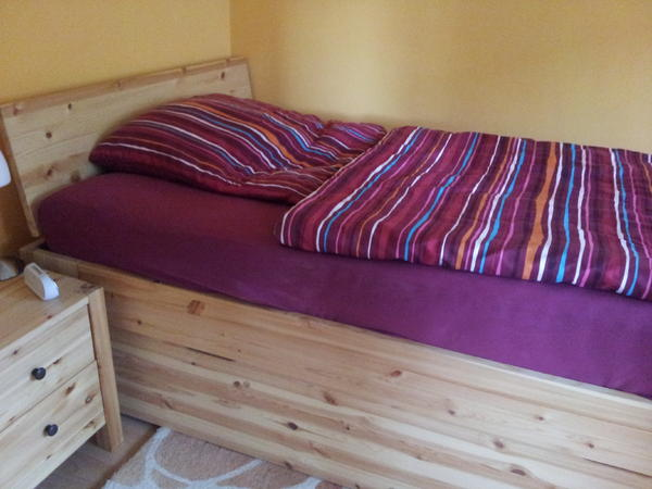 massivholzbett kiefer 120x200 in m nchen betten kaufen. Black Bedroom Furniture Sets. Home Design Ideas