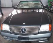 Mercedes 500SL gepflegt