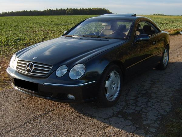 mercedes cl 500 v8 mit top ausstattung keylessgo in. Black Bedroom Furniture Sets. Home Design Ideas