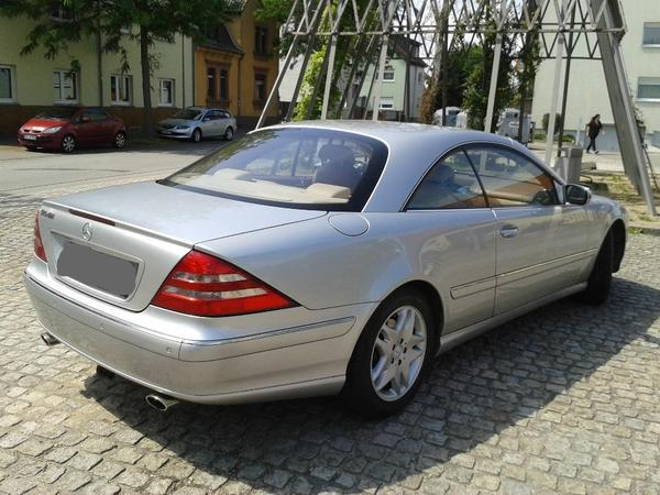 mercedes cl 500 w 215 lpg gasanlage t v neu ahk beige leder in ludwigshafen mercedes. Black Bedroom Furniture Sets. Home Design Ideas