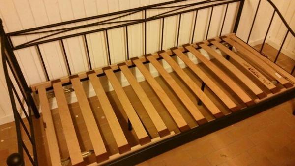 Metall einzelbett betten for Einzelbett metall