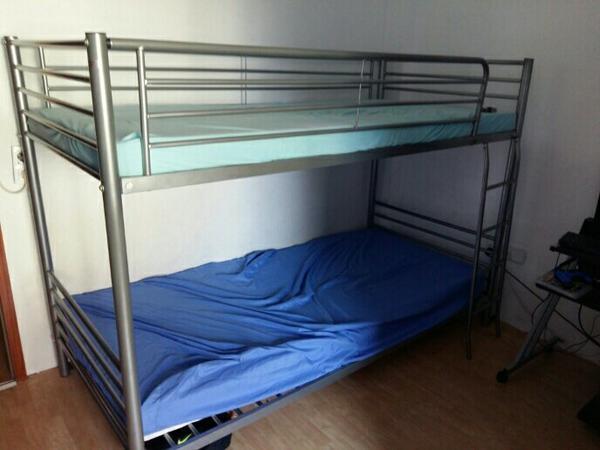 hochbett metall kaufen gebraucht und g nstig. Black Bedroom Furniture Sets. Home Design Ideas