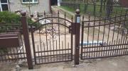 Metall-Zäune, Tore
