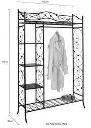 metallgarderobe haushalt m bel gebraucht und neu. Black Bedroom Furniture Sets. Home Design Ideas