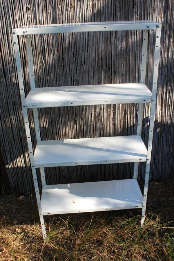 metallregal kaufen gebraucht und g nstig. Black Bedroom Furniture Sets. Home Design Ideas