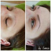 Microblading Augenbrauenpigmentierung