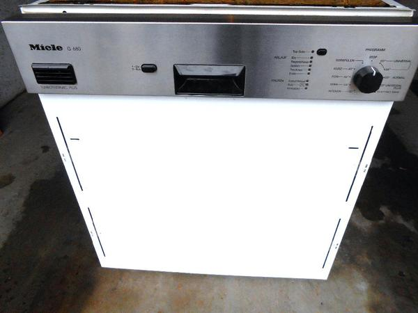 miele g 680 sci 2 turbo edelstahl sehr gepflegt in ammerbuch geschirrsp ler kaufen und. Black Bedroom Furniture Sets. Home Design Ideas